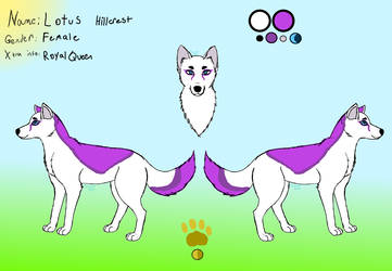Queen Lotus Hillcrest by Lizthewolflover