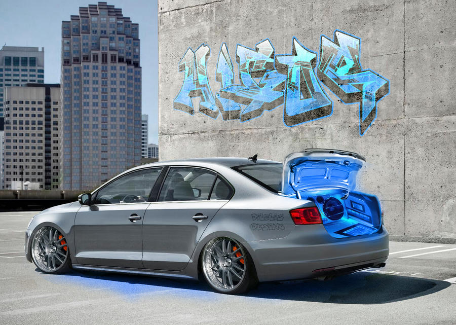 New Jetta Tuning by ~dilelis on deviantART