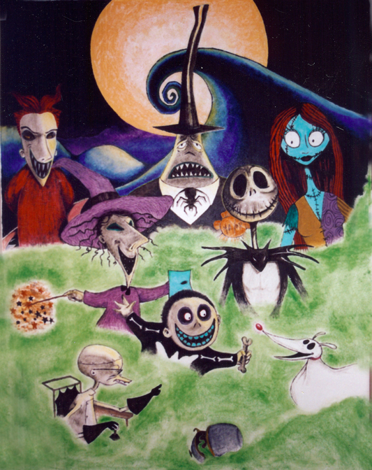 Nightmare Before Christmas Mural By Mattcusmano ... Part 45