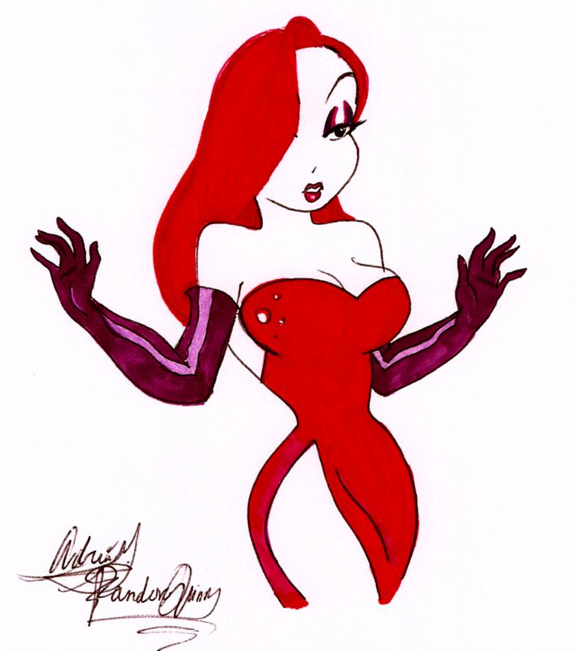 Cartoon Characters Jessica Rabbit : Jessica rabbit by pandoraquinn on deviantart