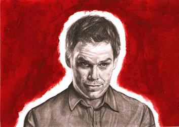 Dexter Morgan by girlinterruptedbyart