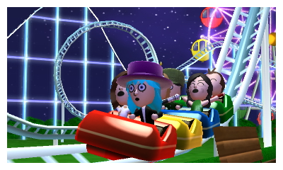 Roller coaster / TomodachiLife by TefiMk