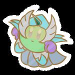 Akvamarin Knight sticker