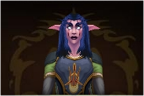 my world of Warcraft character by death-note-boy