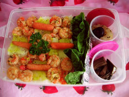 First Bento Try o.O by Chalalade