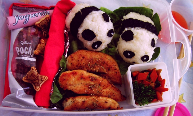 Second Bento Try :3 by Chalalade
