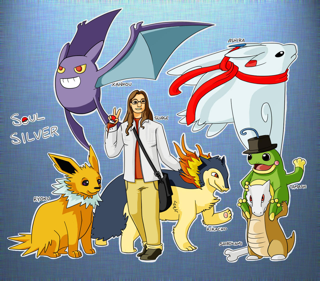 My Pokemon Team by Sludgy