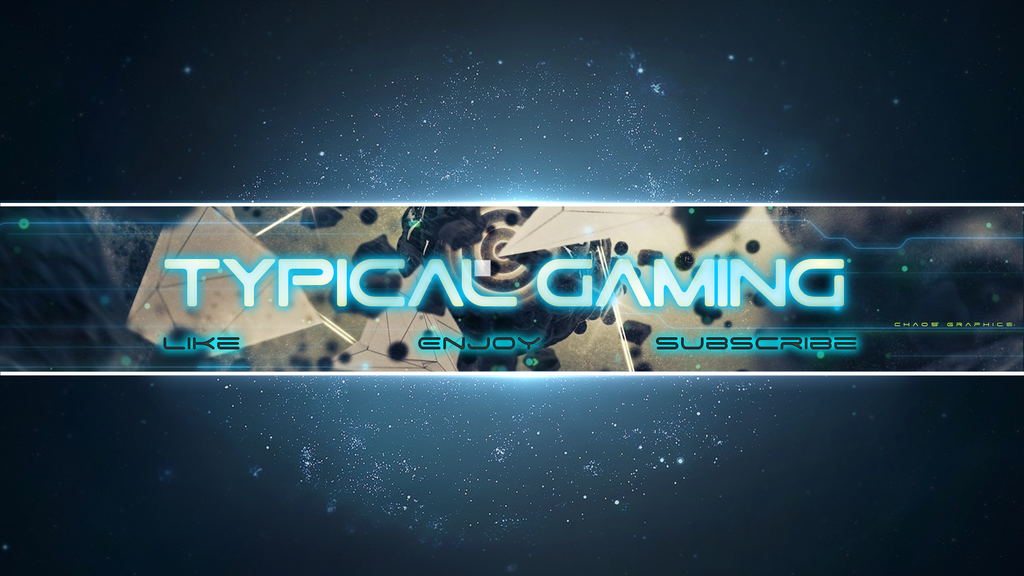 Typical Gaming - Youtube Banner by Chaos-Graphics on DeviantArt