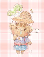 Daisy Mae And Swinub by Mii320