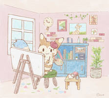 Furret's Atelier by Mii320