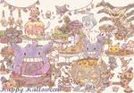 Pokemon Halloween Party by Mii320