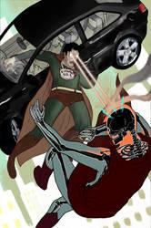 Bizarro will save Superman by JohnPowell