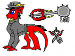 Keyblade Wielder Watchful Pony by MLP-HeadStrong