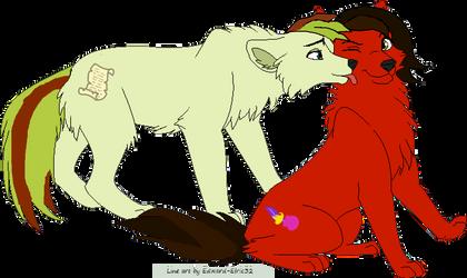 Wolf Couple Voice Sega