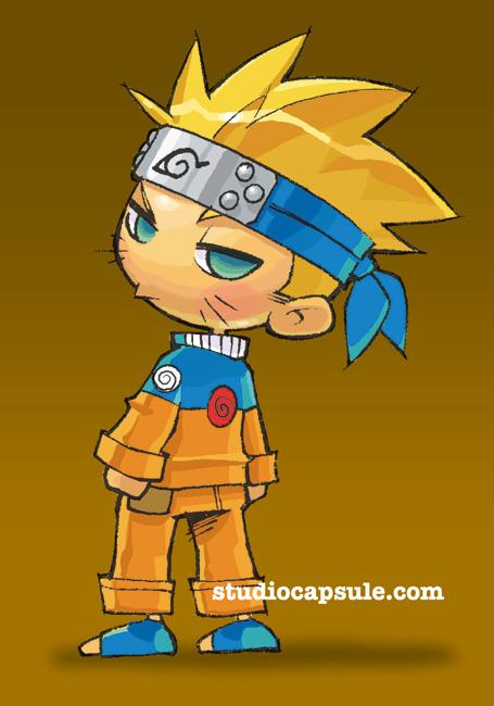 Chibi Naruto by Banzchan