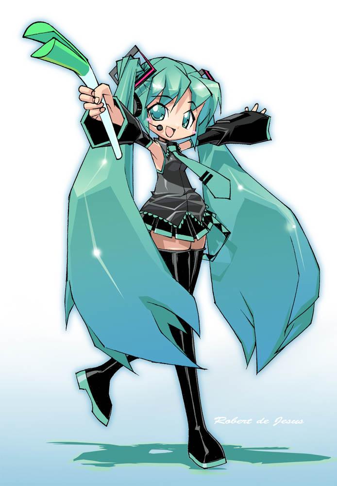 Hatsune Miku by Banzchan