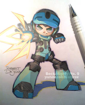 Fanart Beck Mighty No. 9