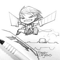 Attack on Titan Chibi by Banzchan