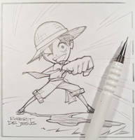 One Piece/Luffy by Banzchan