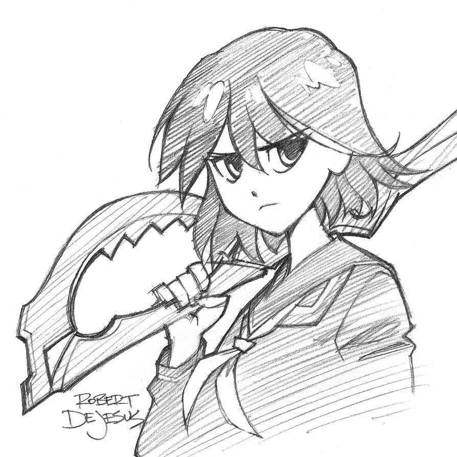 Ryuko Matoi Kill La Kill by Banzchan