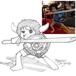 Jabbawookiee Sketch by Banzchan