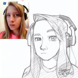Lindur Sketch by Banzchan