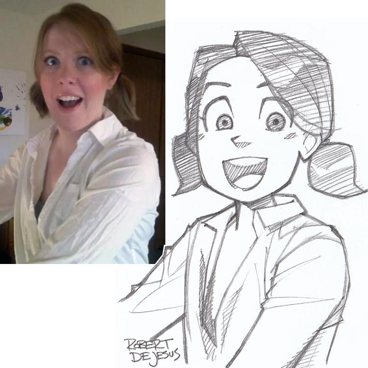 Artista transforma fotografías de personas en personajes de anime Forcedreception_sketch_by_banzchan-d7gkrkx
