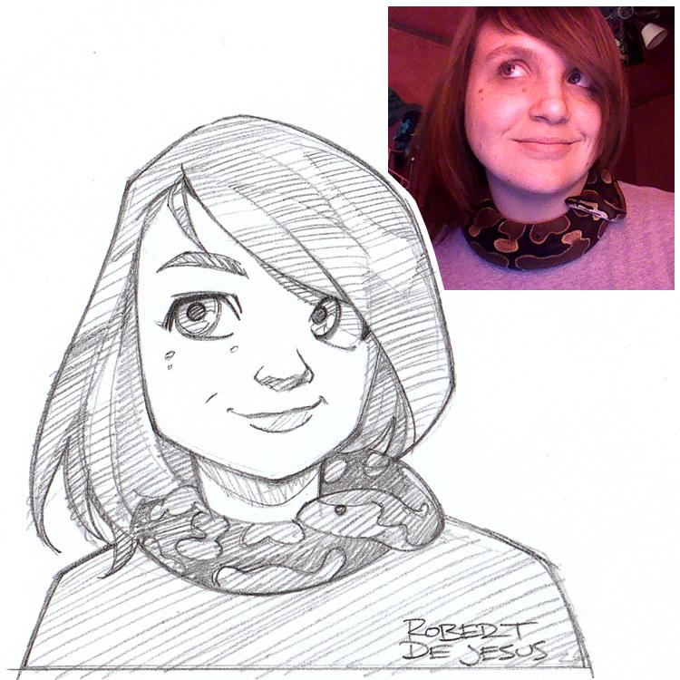 Artista transforma fotografías de personas en personajes de anime Britta_commission_by_banzchan-d7gopvk