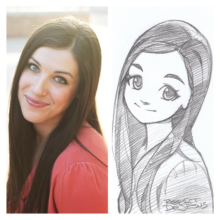Artista transforma fotografías de personas en personajes de anime Sketch_by_banzchan-d7hc24y