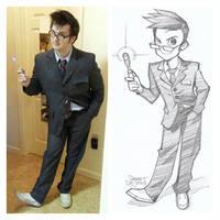 Sam/Dr Who Commission