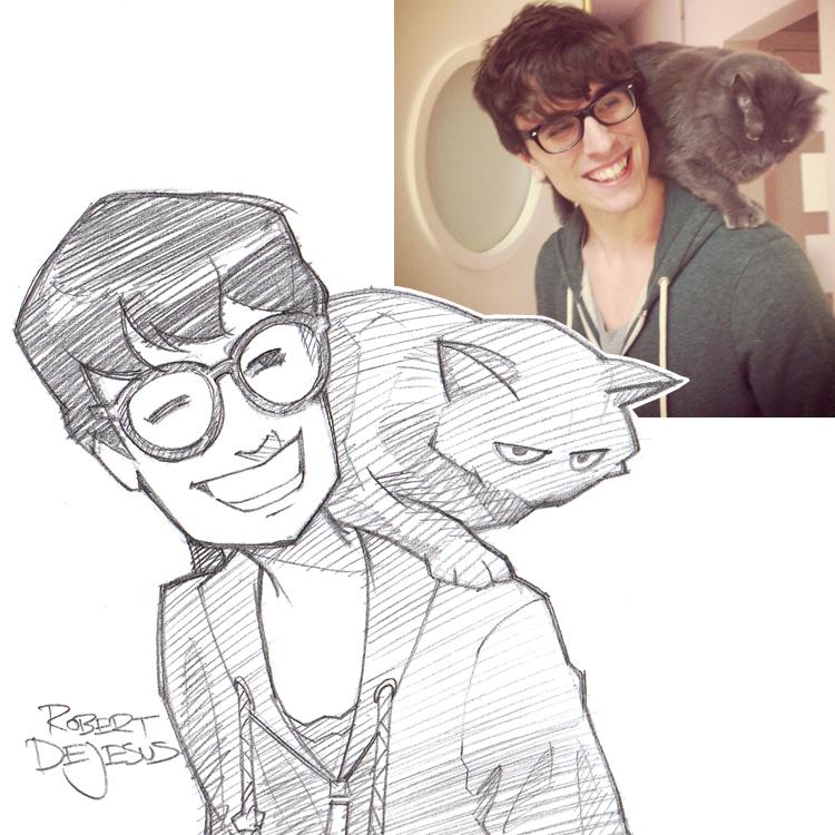 Artista transforma fotografías de personas en personajes de anime Eeriesandwich_sketch_by_banzchan-d7j2rmq