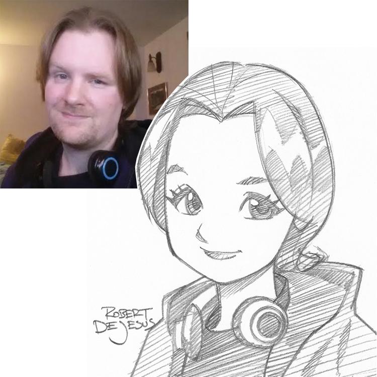 Artista transforma fotografías de personas en personajes de anime Brienne_commission_by_banzchan-d7ldna0
