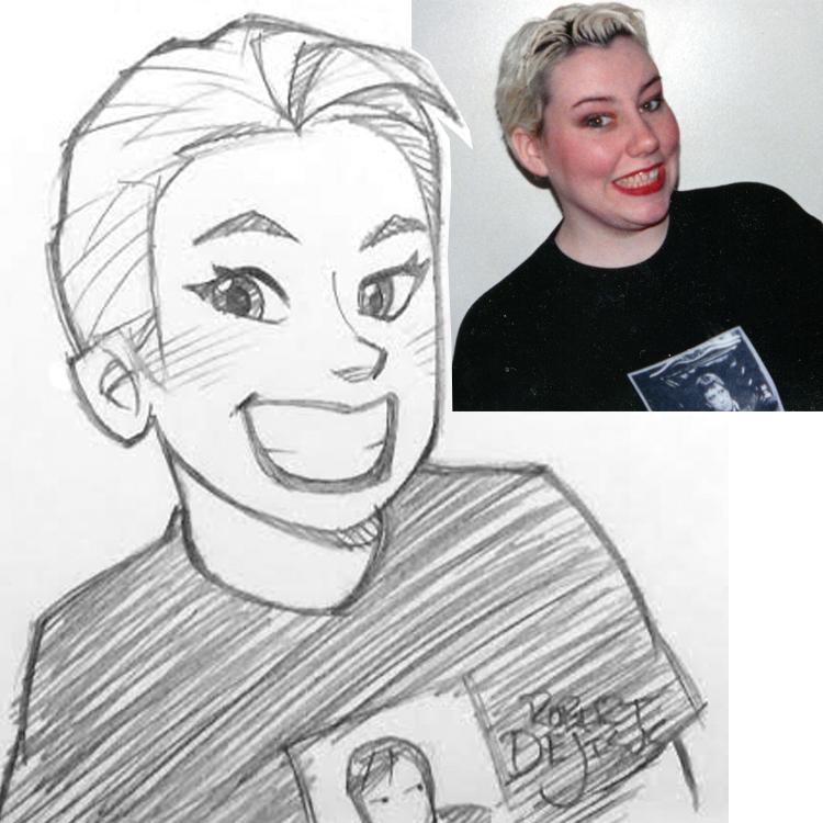 Artista transforma fotografías de personas en personajes de anime Emily_sketch_by_banzchan-d7slr75