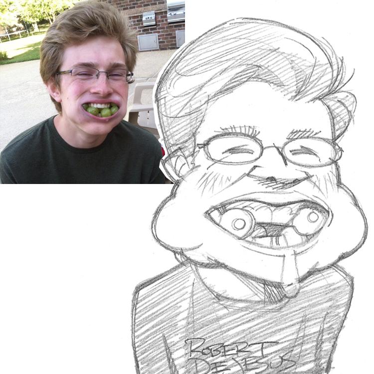 Artista transforma fotografías de personas en personajes de anime Buckyster_sketch_by_banzchan-d7td718