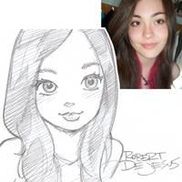 Lady  McGaha Sketch