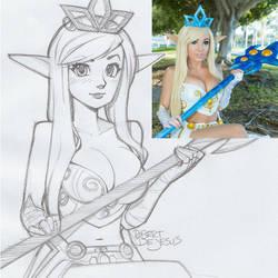 Jessica Nigri Janna League of Legends