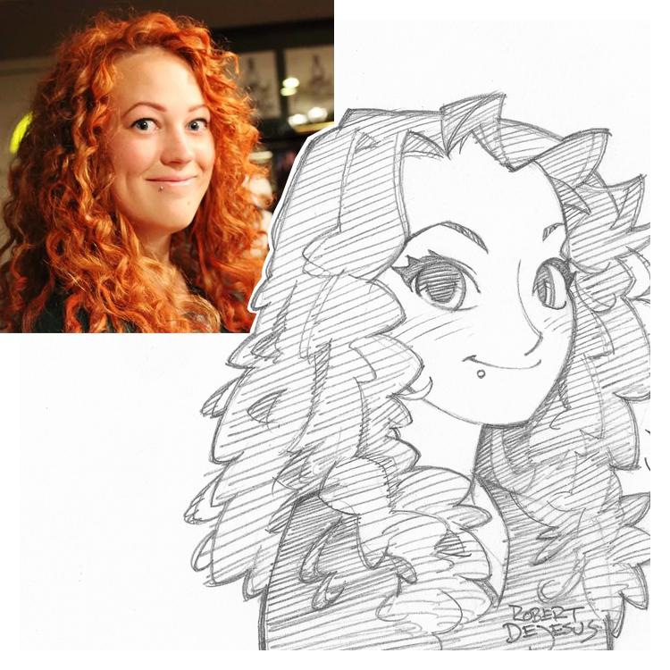 Artista transforma fotografías de personas en personajes de anime Marie_commission_by_banzchan-d7wqs4x