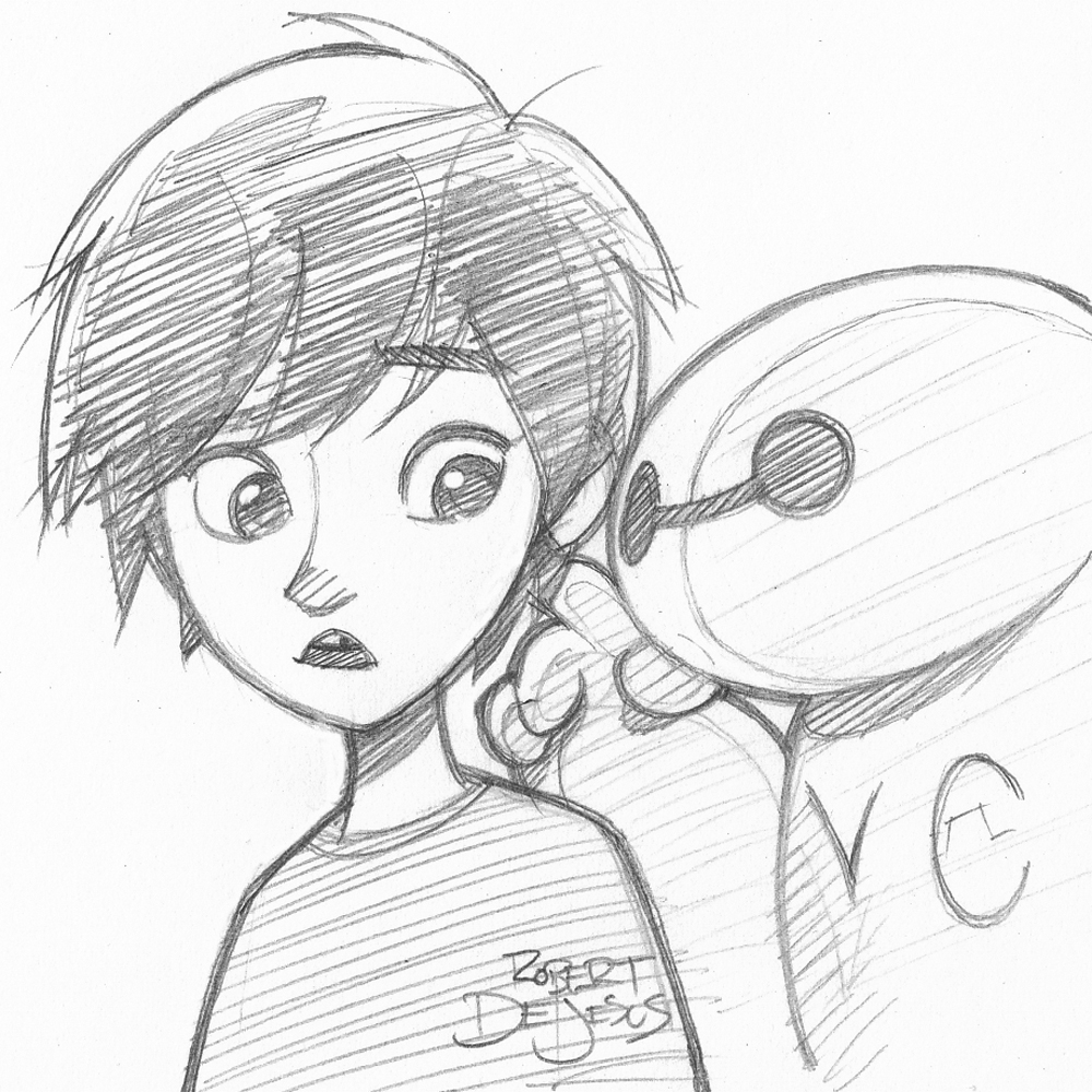 Big Hero 6 Sketch By Banzchan On DeviantArt