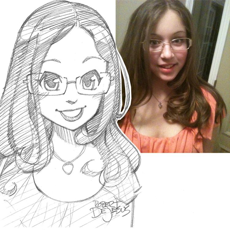Artista transforma fotografías de personas en personajes de anime 8dd3d5386091690513c15e740146e71c-d7y74q4