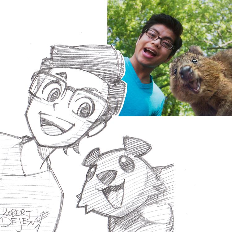 Artista transforma fotografías de personas en personajes de anime Philip_commission_by_banzchan-d7z0pqa