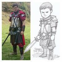 Ancient Stuntman Sketch