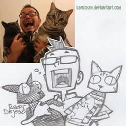 Catmaths Sketch by Banzchan