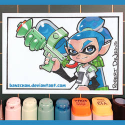 Splatoon Card