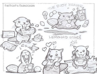Busy Beaver Lemonaid by Banzchan