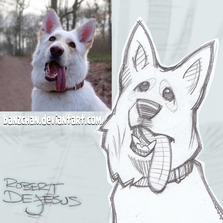 Mezdogg Sketch by Banzchan