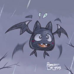 Bat for Drawlloween