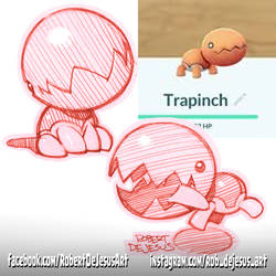 Trapinch by Banzchan