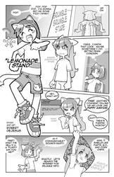 Lemonade Stand pg1 by Banzchan