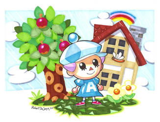 Animal Crossing by Banzchan