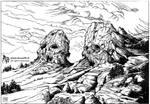 Dead kings skulls mountain